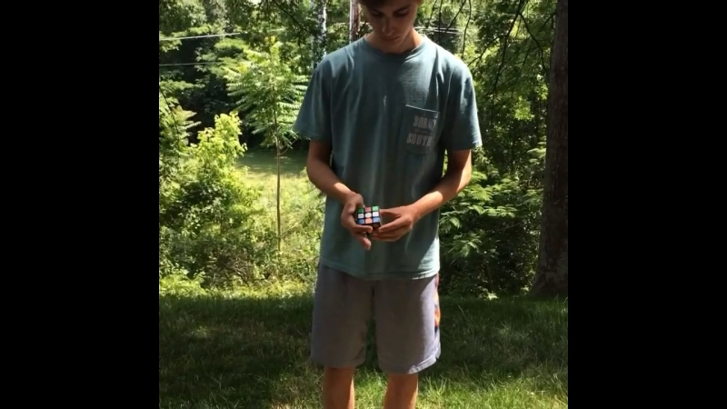 Rubik's cube magic