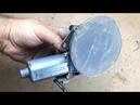 Orbital Sander - very easy way with wiper motor/ döner zımpara yapımı