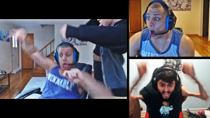 TYLER1 REACTS TO ALL YASSUO RAGES AFTER THEIR BET DANCE WITH MACAIYLA FAKER'S OLD ZED LOL