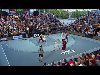 FIBA 3x3 World Cup 2014 - FINAL: Serbia VS. Qatar (Moscow, Russia; 2014)