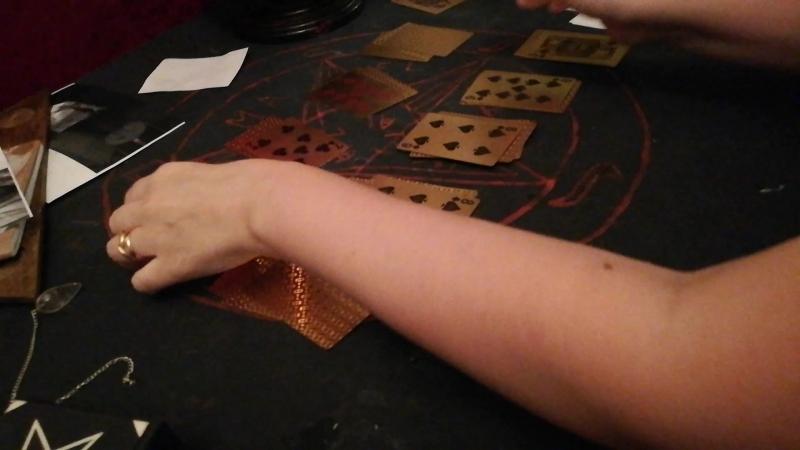 Пасьянс на игральных картах