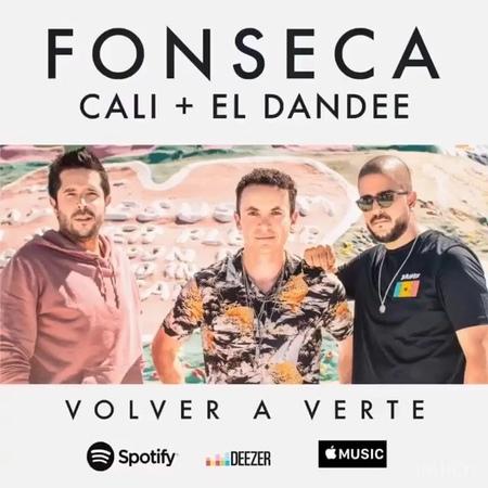 """Cali Y El Dandee on Instagram: """"Nosotros seguimos emocionados con esta canción que nos gusta tanto 💮🎶 VolverAVerte junto a el profe @fonsecamusic 🔥🎥"""""""