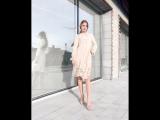 Нежное платье цвета абрикос 😍 Для тебя, красивой и не такой как все ✨