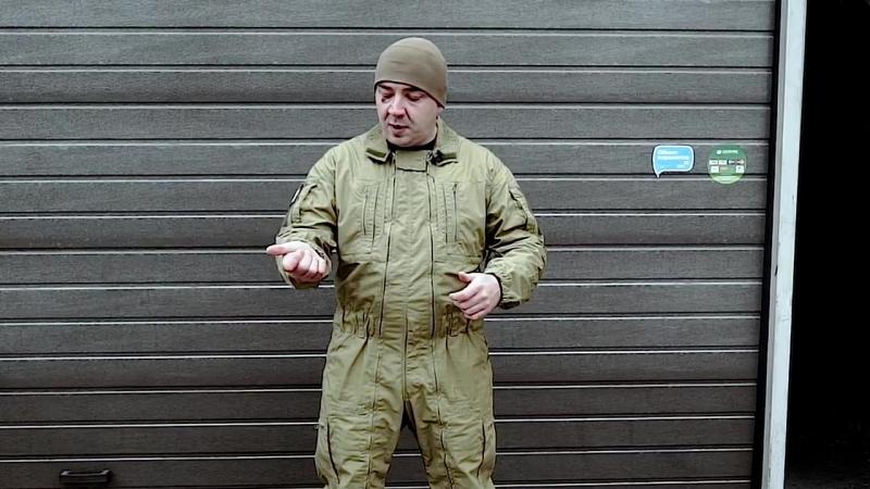 Снаряжение ЦСН ФСБ РФ - 1 Штурмовой комбинезон Вымпел от ССО Конструкция, молнии
