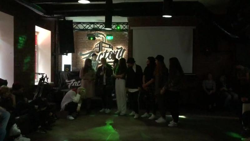 NSD WAY K-POP COVER DANCE CREW выступление 02/09/18 K-POP PARTY