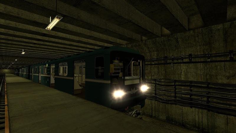 Metrostroi Катка с накатом