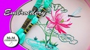 Embroidery: Stem Stitch | Bordado a mano: puntada de Tallo