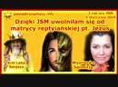 Dzięki JSM uwolniłam się od matrycy reptiliańskiej pt Jezus Wywiad z Sanmirją
