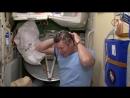 Как помыть голову в невесомости