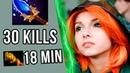 30 Kills Crazy Windranger by SexyBamboe Gameplay Dota 2 Ranked