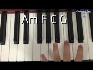 Контракт душ BGM kide 《重生》 Фортепиано+урок