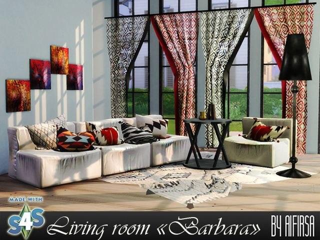 """Living room """"Barbara"""" by Aifirsa"""
