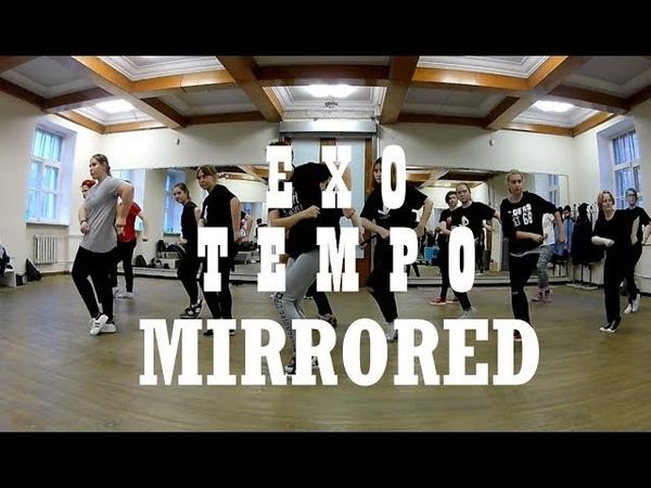 EXO - Tempo MIRRORED Dance Cover Tutorial