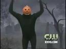 Pumpkin Man celebrates Halloween early