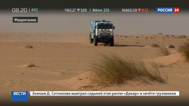 Новости на Россия 24 • Марафон Африка Эко Рейс: организаторы давят на КамАЗ