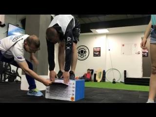 Сдача нормативов ГТО в CrossFit KONTORA