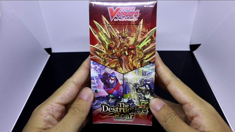 VANGUARD V The Destructive Roar Booster Box Opening THIS TIME I PULLED AN OR [V-EB01]