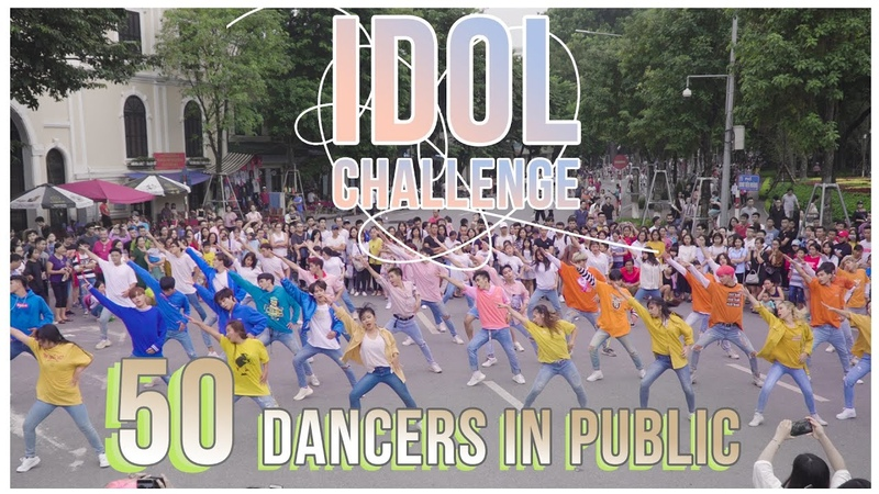 [KPOP IN PUBLIC COLLABORATION] IDOL CHALLENGE- BTS dance cover by Oops!crew, B-wildFG from Vietnam