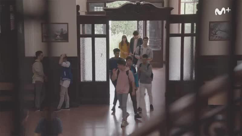 Skam Spain - Episode 7 (Clip 2) - Stress herpes