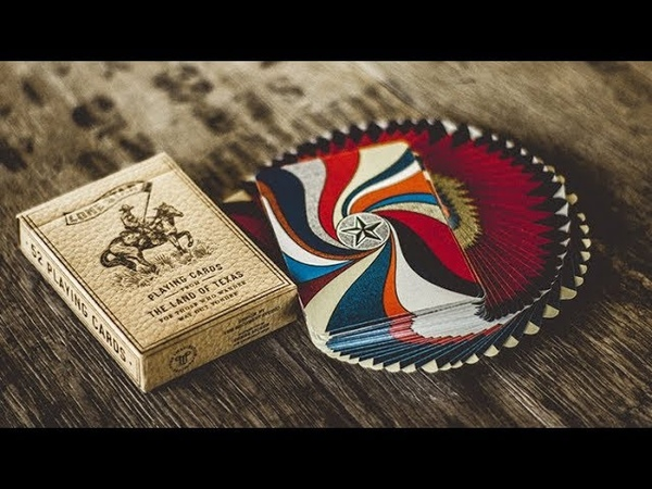 Deluxe Lone Star Playing Cards by Pure Imagination Project - Magicland.se