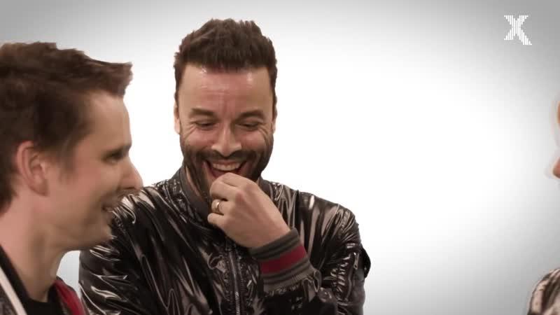 Chris laughing