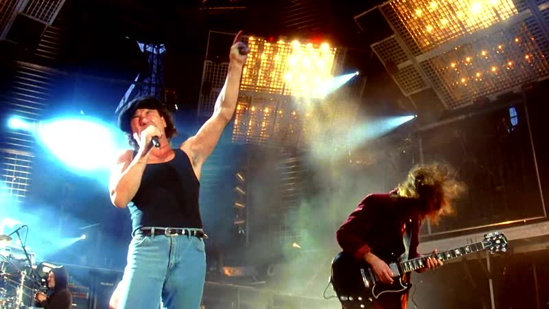 AC/DC - Shoot To Thrill (Monsters Of Rock festival, Live at Donington, 1991). Full HD 1080p.