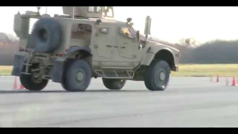 Oshkosh M-ATV — american four-wheel armored car