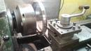 Изготовление переходной плиты. Видео для Блога Погрузчик Годзилла Токарь-1