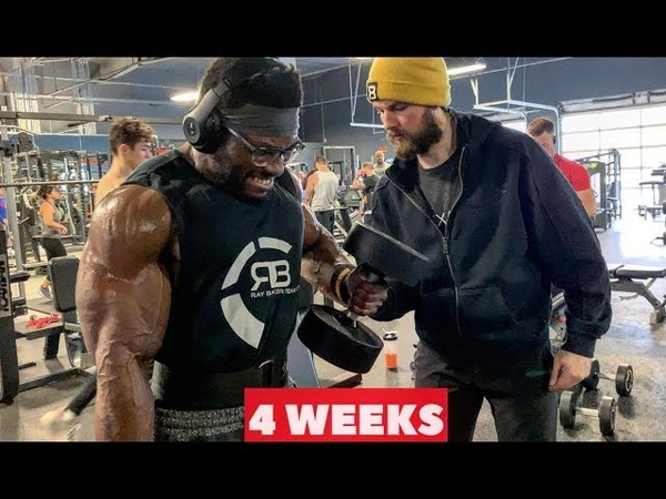 Courage Opara Trains Arms - 4 Weeks Out from Arnold Classic 2019