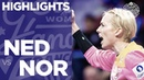 Netherlands vs. Norway - Game Highlights   Women's EHF EURO 2018