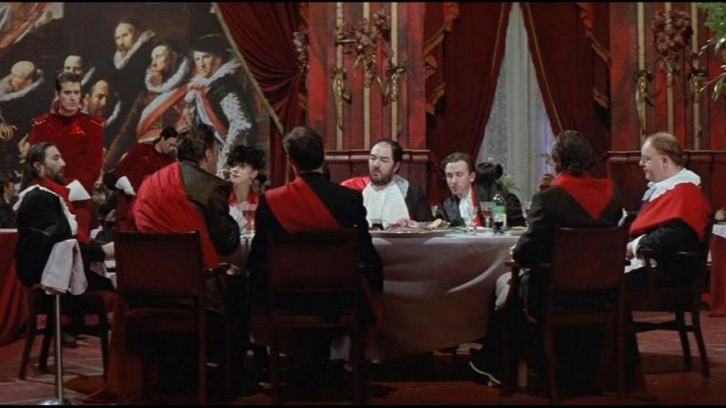 Повар, вор, его жена и её любовник / The Cook, the Thief, His Wife Her Lover / Питер Гринуэй, 1989 (драма, криминал)