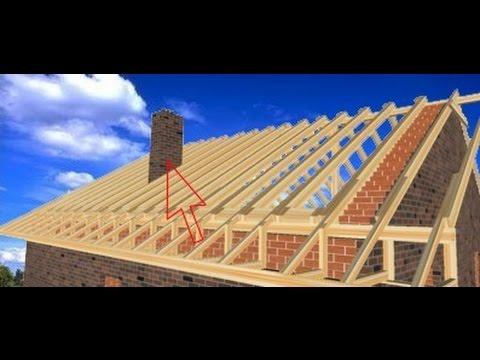 Строительство крыши пошагово. Поймут все.