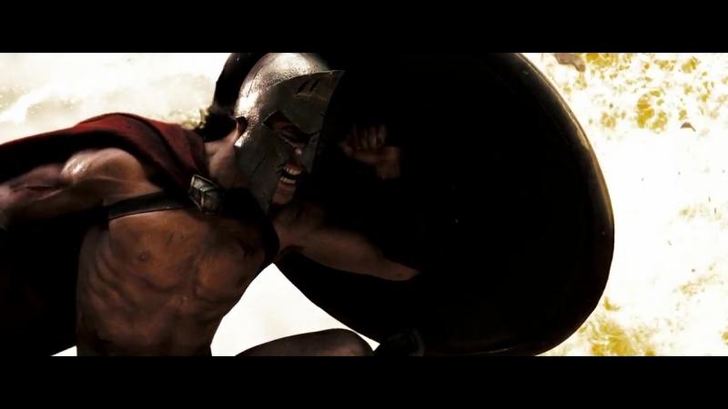 '300 спартанцев' Спартанцы против чудовищ племен магов-'300 Spartans' Spartans against monsters.mp4
