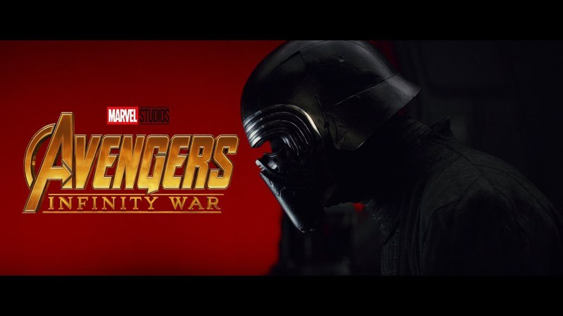 Звёздные войны : Война бесконечности(Avengers: Infinity War) Mash-up