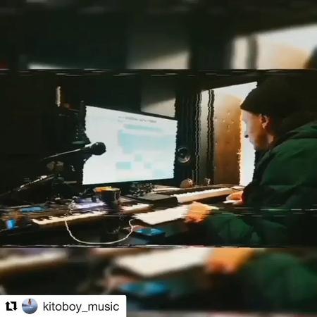 """Slimus azimutzvuk on Instagram """"делаем рэп @kitoboy_music весъкаспийский slimus kitoboy hitroom азимутзвук"""""""