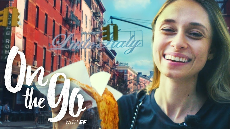 Maria goes to Manhattans West Village SoHo – On the go with EF 80