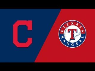 AL /  / CLE Indians @ TEX Rangers (1/3)
