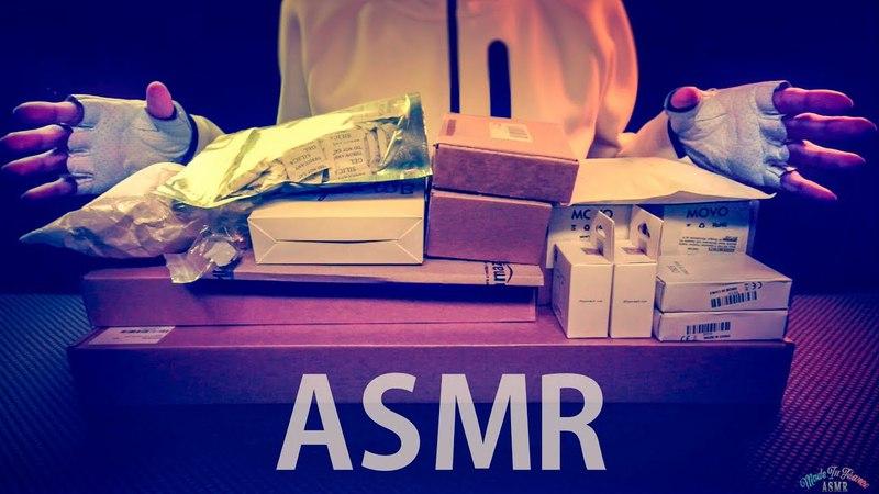 [ASMR] Massive 1 Hour UNBOXING Filmmaking DSLR Gear - ENGLISH Whispering