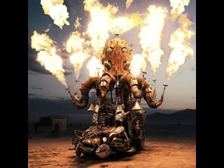 Как заработать на фестивале burning man