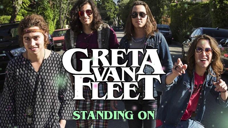 Greta Van Fleet - Standing On (2013 Studio Version) [HD]