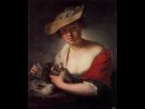 Jean-Philippe Rameau (1683 - 1764) - Le rappel des oiseaux - performed by Emil Gilels (1930s recording)