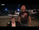 Edge mows down fake Paul Bearer with a car SmackDown 2011