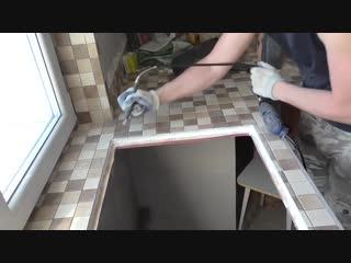 Как сделать столешницу из гипсокартона для кухни - Заметки строителя