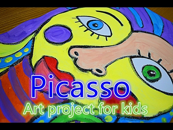 Art project for kids | Picasso 1😁😂😃😄
