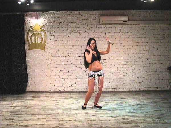 Salomeya Ashar Танец живота связка средний уровень