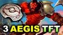 3 AEGISES 2 ANCHORS vs TFT EU FINAL WESG 2018 DOTA 2
