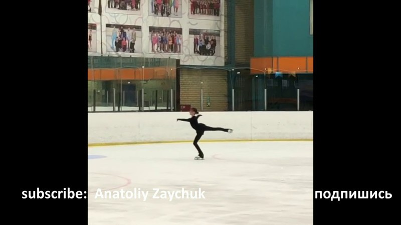 Anna Shcherbakova Quad lutz triple toe triple loop Анна Щербакова 4Lz-3T-3Lo лутц Zagitova