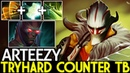 Arteezy [Juggernaut] Max Attack Speed Tryhard Counter TB 7.20 Dota 2
