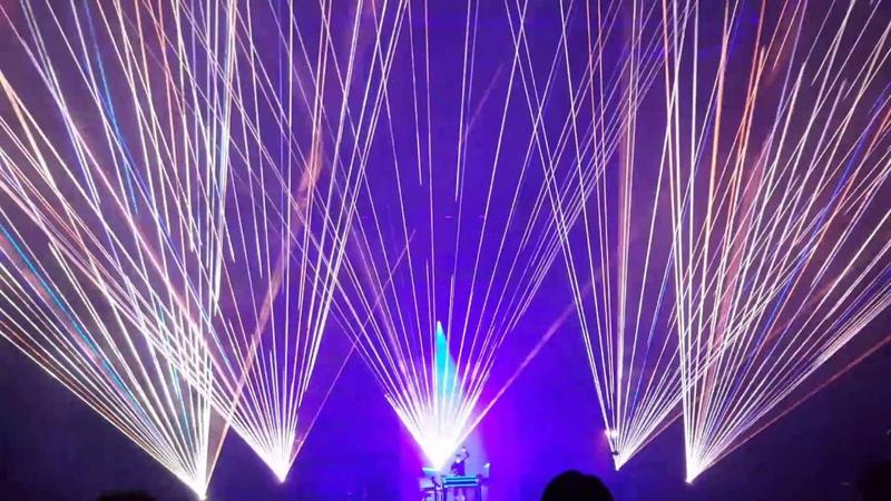 JEAN-MICHEL JARRE (LIVE) - Electronica World Tour 2016 (Düsseldorf)