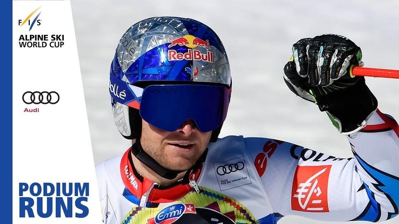 Alexis Pinturault | 1st place | Mens Giant Slalom | Soldeu | FIS Alpine
